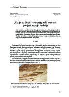 """prikaz prve stranice dokumenta """"Dizajn za život"""" – staroegipatski hramovi: povijest, razvoj i funkcija"""