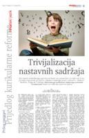 prikaz prve stranice dokumenta Trivijalizacija nastavnih sadržaja