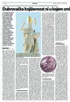 prikaz prve stranice dokumenta Dubrovačka književnost ni u kojem smislu nije sastavni dio srpske književnosti